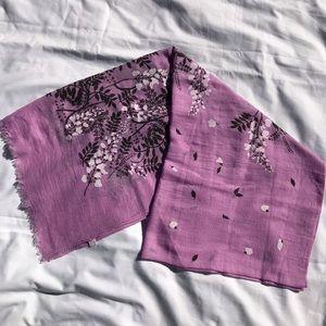 Purple Print Scarf BRAND NEW